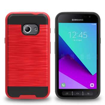 free shipping 0b81e d5a8e 2 In 1 Pc Tpu Brushed Armor Phone Case For Samsung Galaxy Xcover 4 - Buy  Phone Case For Samsung Galaxy Xcover 4,Armor Phone Case For Samsung Galaxy  ...