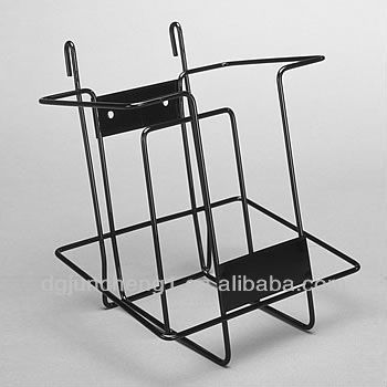 Meal Wire Literature Display Rack