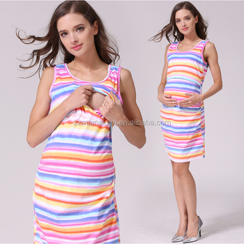 MamaLove Fashion Maternity Clothing Maternity dress Nursing clothes Nursing  dresses Breastfeeding Clothes for pregnant women 1dfba0b25