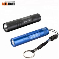 Aluminum Alloy LED Pocket Keychain Flashlight