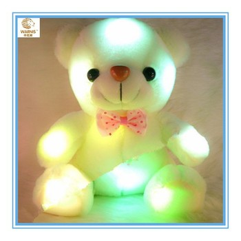 Color- Changing Light Up Plush Animals Bright Light Teddy Bear ...