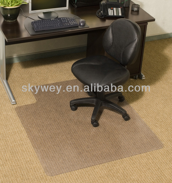 Anti Slip Rubber Chair Mat For Office