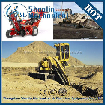 Multifunctional Cable Trencher And Ditcher With High Performance - Buy  Cable Trencher And Ditcher,Double Chain Ditcher,Ditch Digging Maching  Product