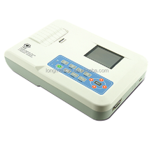 Digital 3 Channel 12 Lead ECG EKG Machine,Electrocardiogram,Printer With CE,FDA ,USA Shipment Available