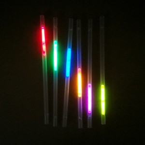 Novelty items led glow cups with glow straw