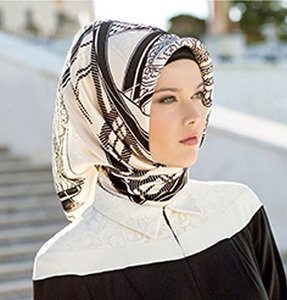Directly supply to Turkey Market Printed Amira Hijab Factory in China