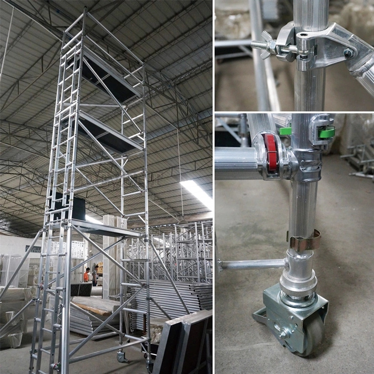Portable used aluminum scaffolding with customized size