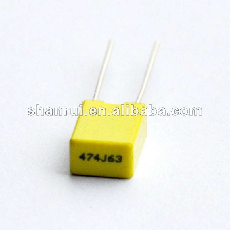 Metallized polyester film capacitors-mini box - thin film capacitor