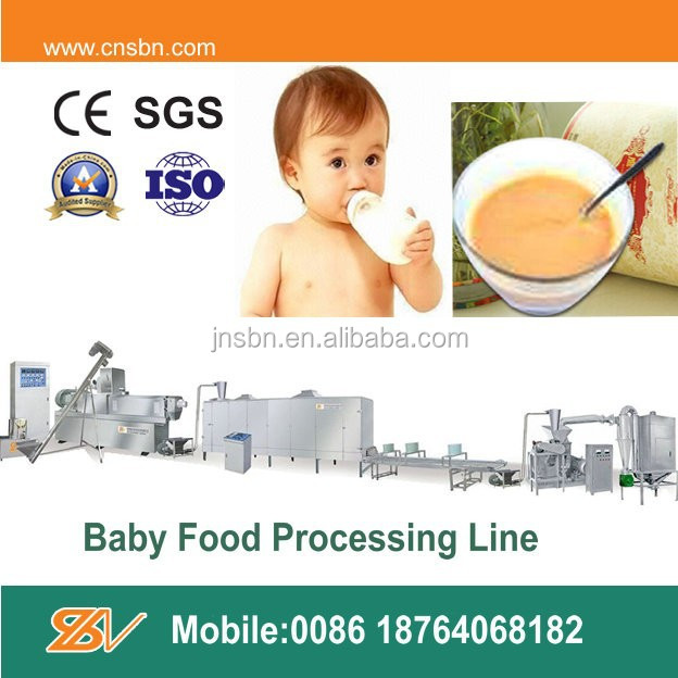 Baby Food Manufacturing Machinery