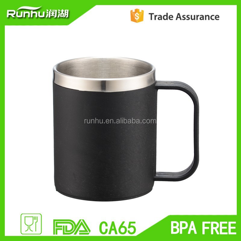 Double wall insulated vacuum shot glass/stainless steel thermos wine mug/vacuum beer cup RH-KD-220