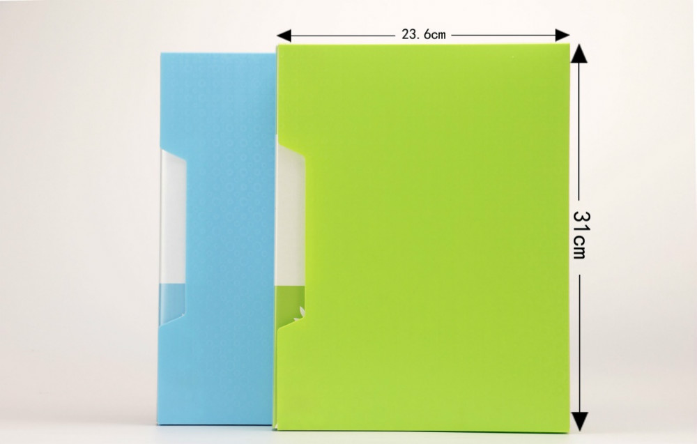 cheap custom design cover printing wholesale Clear Book