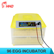 Mini 96 chicken egg incubators for sale Digital Auto Turner Poultry Bird Quail Hatcher