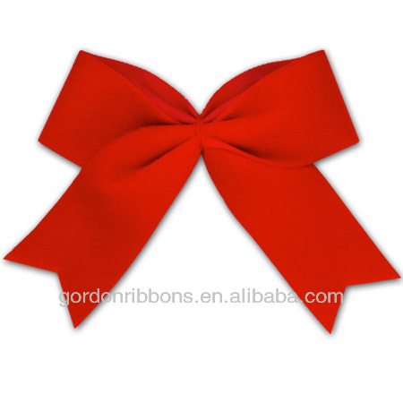 Western fashion gift ribbon bow, Elastic packing bows