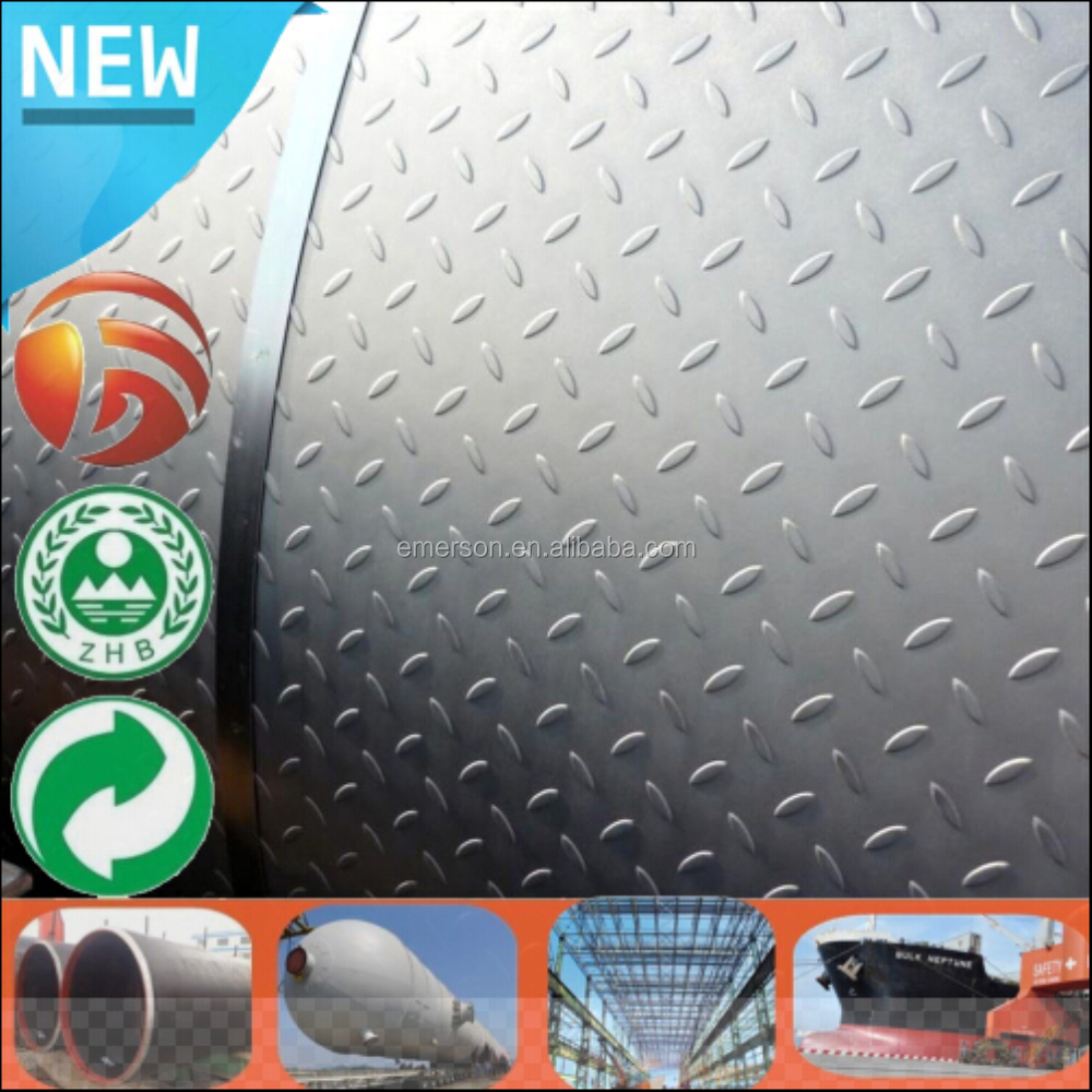High Quality Hot rolled carbon steel plate checkered chequered steel coil SS400 7.5*1050 steel sheet