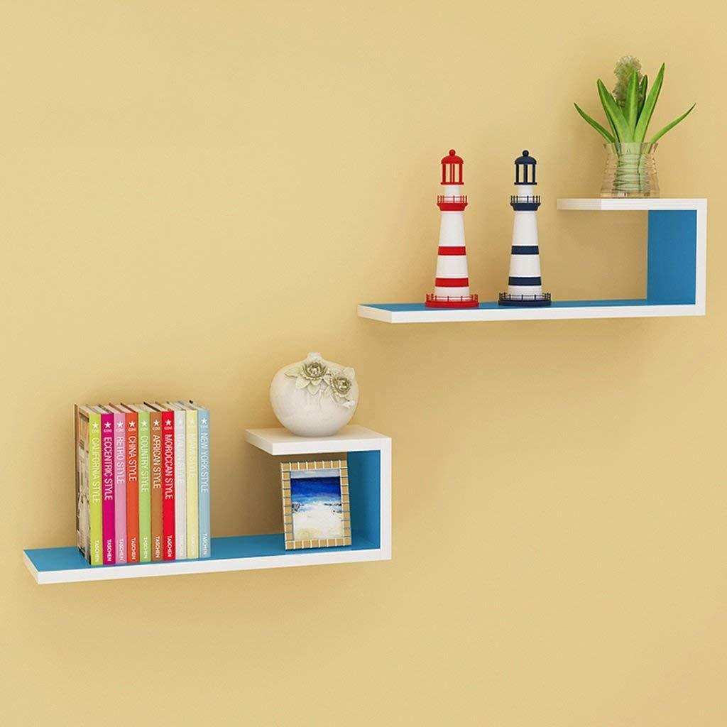 Get Quotations Wall Shelf Walls Living Room Slab Partition Hung Bookshelf Modern Minimalist