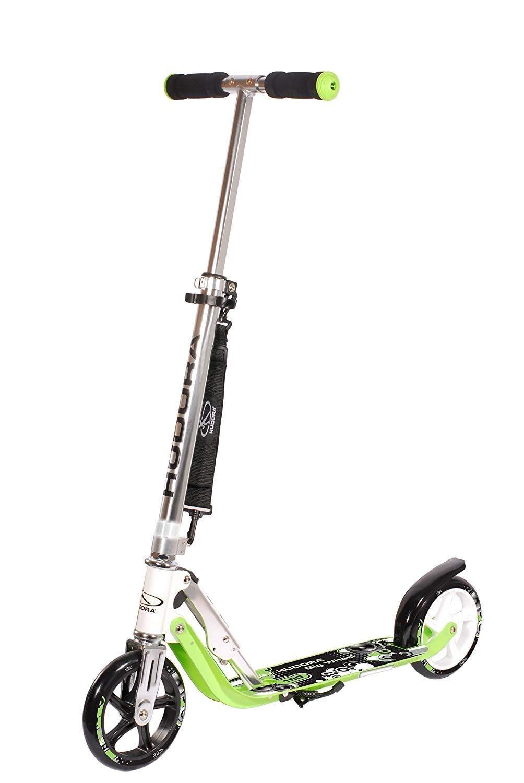 Adjustable Height Easy Folding Scooter-Pink LIYU HUDORA 125 Kick Scooter Teen 6-Year-Old Kid Girl Big Wheels