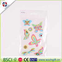 Cute animal sticker 3d bubble decoration stickers for diary scrapbooking kwaiaii stationery office school supply