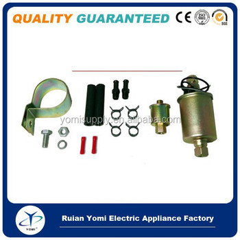 UNIVERSAL ELECTRIC FUEL PUMP & INSTALLATION KIT E8012S Fuel Pump Module Assembly 080044089926 GA8012S