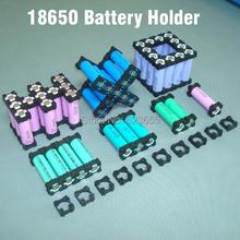 18650 battery holder bracket Cylindrical battery holder 18650 li-ion cell holder Safety anti vibration 18650 plastic case box