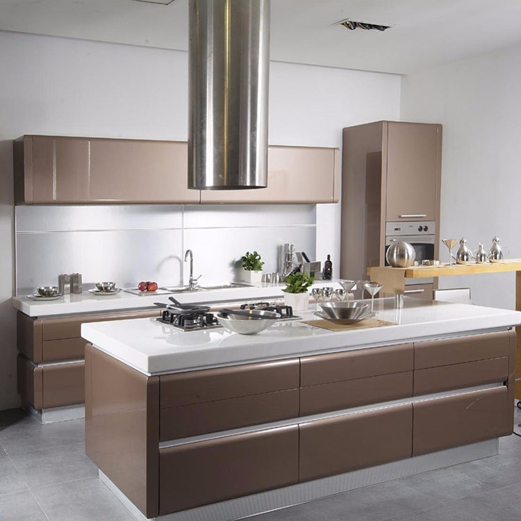 Ethiopian Furniture High Gloss Modular Kitchen Cabinet