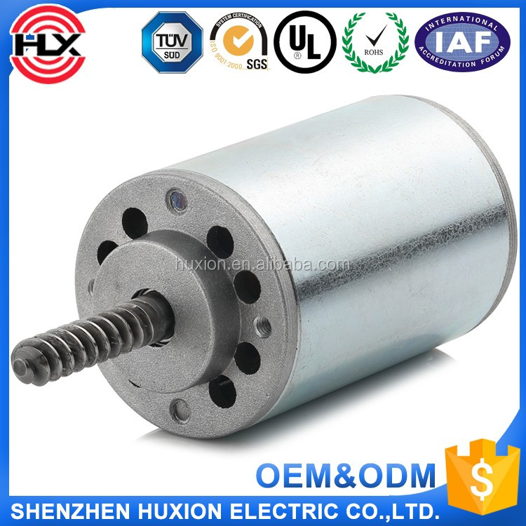 45mm 1200RPM 0.18N.m 12v dc motor 1 nm brush dc electric motor 48v pulley for dc motor