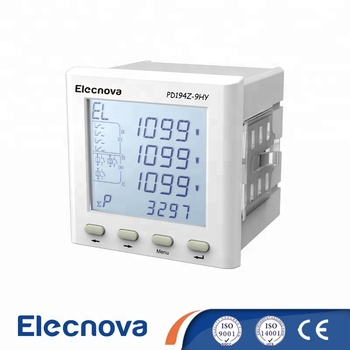 PD194Z-9HY lcd multi function 3 phase power meter 485 output 4-20ma
