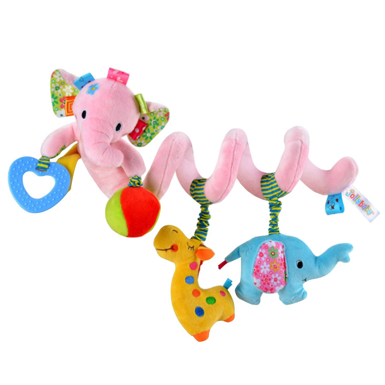 BabyPrice Baby Crib Toy Wrap Around Crib Rail or Stroller Toy Activity Spiral Stroller and Travel Toy
