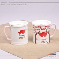 couple OEM brand ceramic coffee mug sets