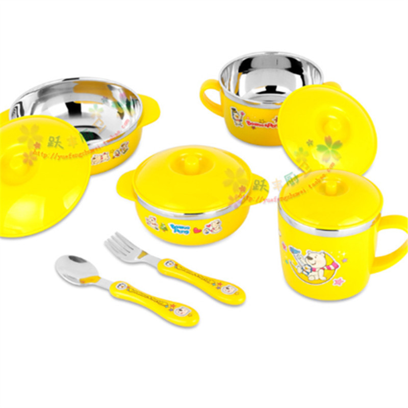 Buy Look 6 Sets baby dinnerware Child Bowls Set Soup Bowl Cup Spoon and Fork Baby Bowl Cartoon Dinnerware Sets Child Tableware Spoon in Cheap Price on ...  sc 1 st  Shopping Guide - Alibaba & Buy Look 6 Sets baby dinnerware Child Bowls Set Soup Bowl Cup Spoon ...
