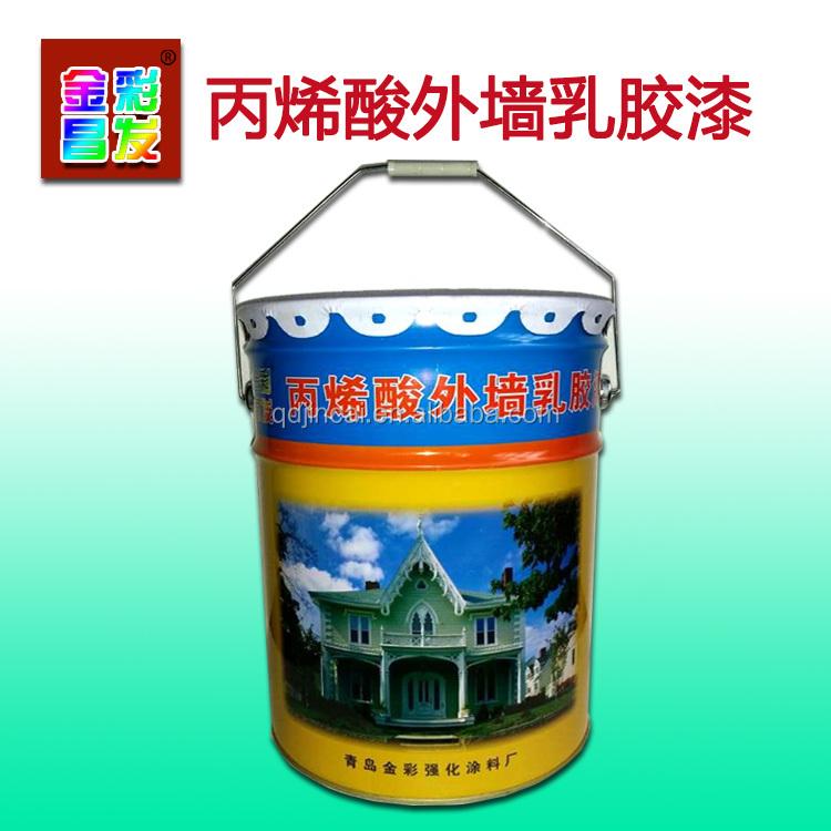 Edificio exterior a base de agua pintura de imprimaci n for Exterior water based paint