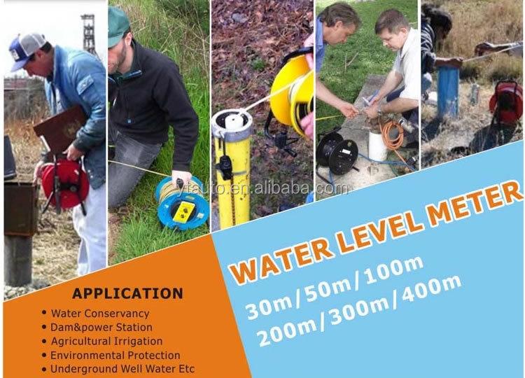 Heerser Tape Grond Waterniveau Indicator 50M 100M 150M Goed Diepte water level meter
