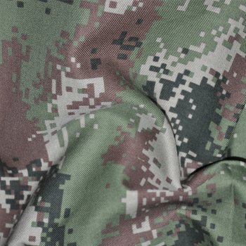 camouflage polyester cotton hunting camo fabric