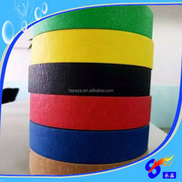 Coating imported rubber bule masking tape jumbo roll forpowder coating