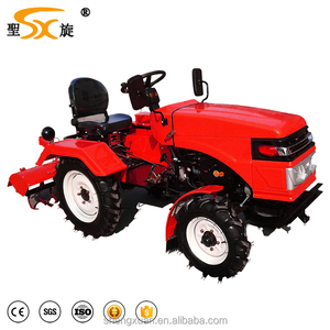 Peru hot sale 20hp 4wheels tractor mini /mini tractor price(SX-20)