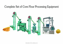 Small scale maize flour mill machine