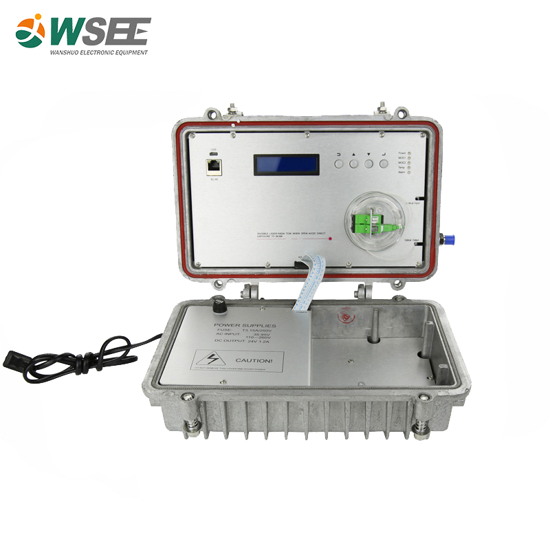 860MHz Outdoor 1550nm Optical Transmitter in remote area for small catv net