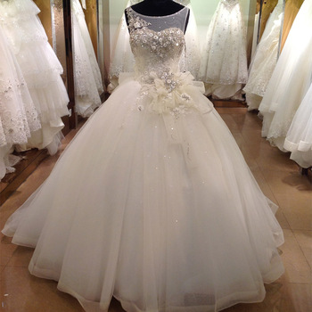 White fairy floral bridal dress wedding gown sleeveless backless white fairy floral bridal dress wedding gown sleeveless backless wedding dress for fat women 2017 junglespirit Gallery