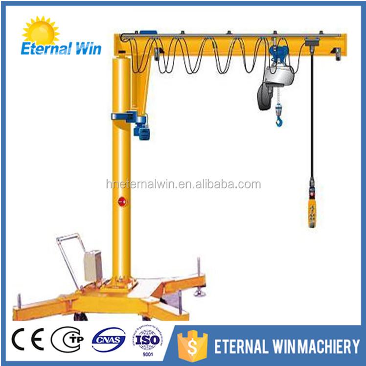 Portable Hydraulic Jib Crane : Mobile floor jib crane gurus