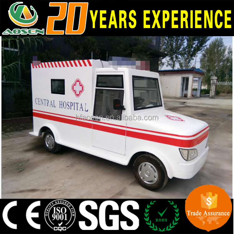 Electric ambulance car price with ce certificate
