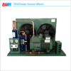 Low Noise Industrial Cold Room Condensing Unit Heat Exchanger