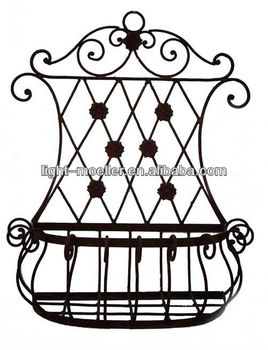 Wrought Iron Wall Planter Buy Wrought Iron Garden Planters Metal