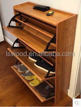 Wooden Shoe Cabinet Door Shoe Rack, Cabinet Parts Shoe Rack