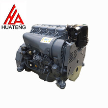 Air Cooling Beinei F4L912 Diesel Complete Engine 51kw 2500 rpm