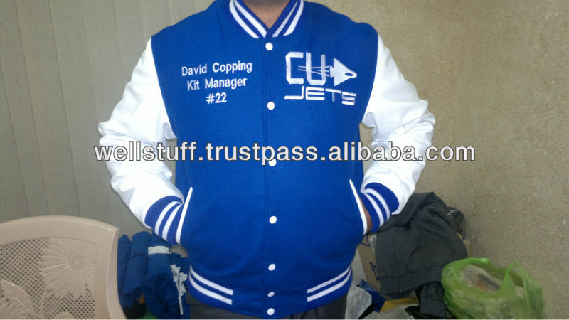 American football jackets/ Coach jackets/ Football team jackets with custom logo and patches