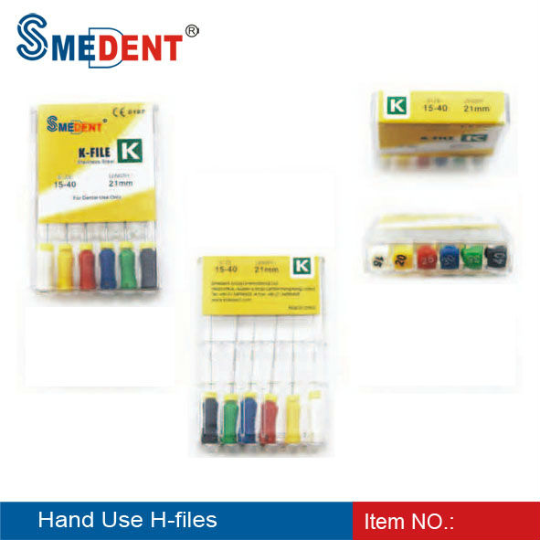 Endodontic Files Dental Hand Use Files H-file