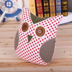 Owl Shape Fabric Cushion