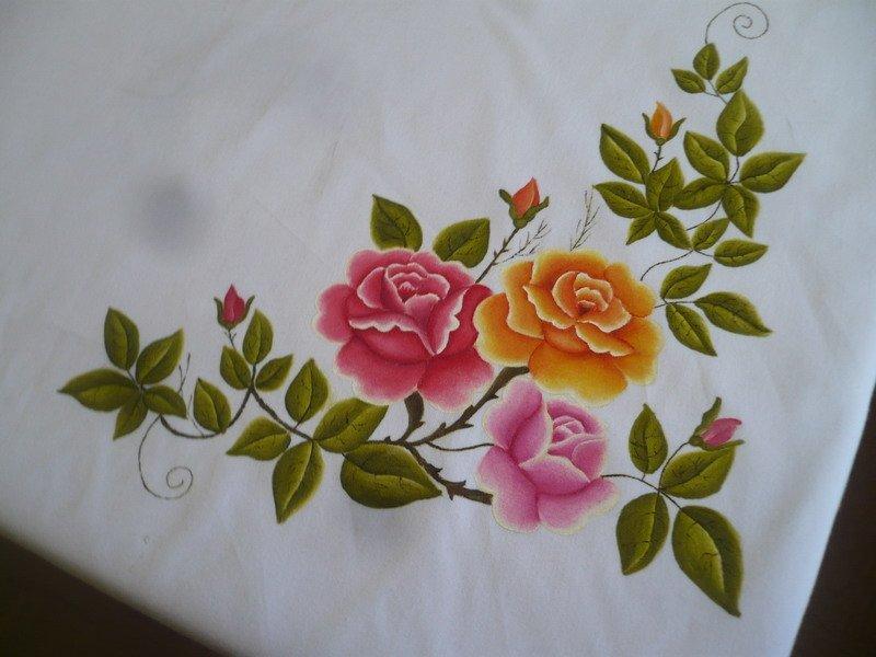 Nappe peinture nappe de table id de produit 106254301 - Pintura en tela motivos navidenos ...
