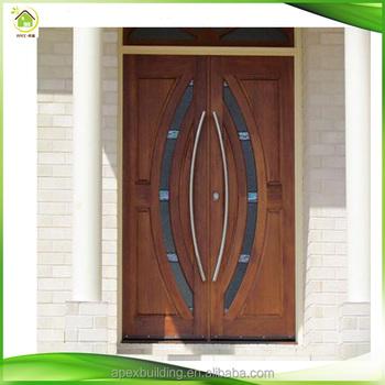 Solid Wood Entry Hardwood Front Doors