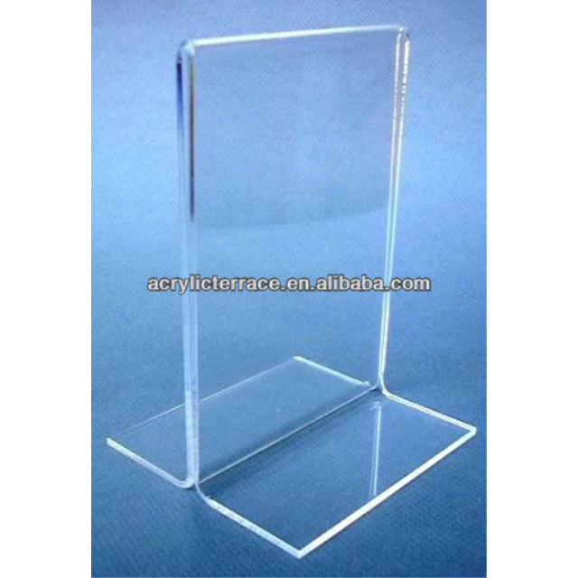 Acrylic Menu Card Table Tent Holders Menu Board Display Stand - Acrylic menu table tent holders