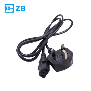 ac power cord cable 220v power cords for laptops EU/AU/UK/US plug power supply cord